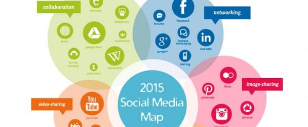 Interactive Social Media Map